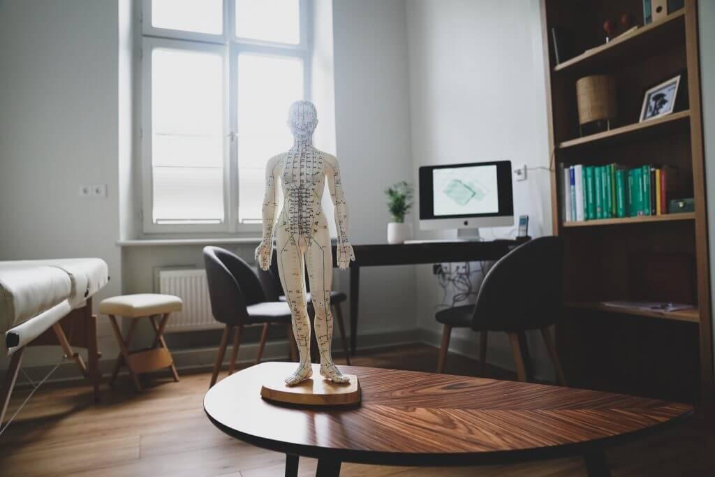 Blick in die Räumlichkeiten der Frauenarzt-Praxis in Bamberg